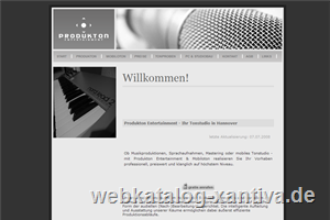 Produkton Entertainment - Tonstudio in Hannover