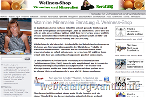 Fitlineberatung der Wellness-Shop24 & Fitline
