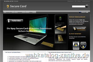 Secure Card - Der mobile Datentresor