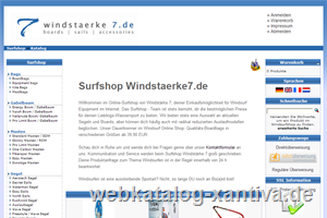 Windstärke 7 Surfshop