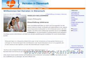 Heiraten in Dänemark