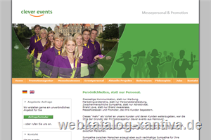 clever! events – Promotion | Messe | Personal - Agentur Hannover