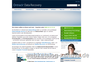 Ontrack Data Recovery - Datenrettung