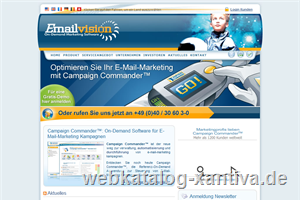 Emailvision - e-Mail-Marketing Software