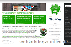 Webdesign, Suchmaschinenoptimierung, Online-Marketing & Content aus Bernau