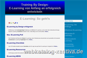 Offenes E-Learning und Online Training Portal