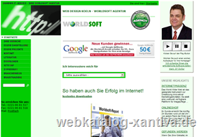 Web Design Koeln - Worldsoft Agentur