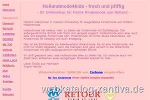 Hollandmode 4 kids - freche Kindermode aus Holland