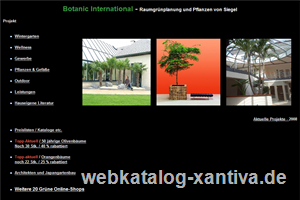 Botanic International
