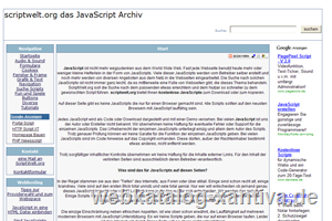 das grosse deutsprachige JavaScript Archiv